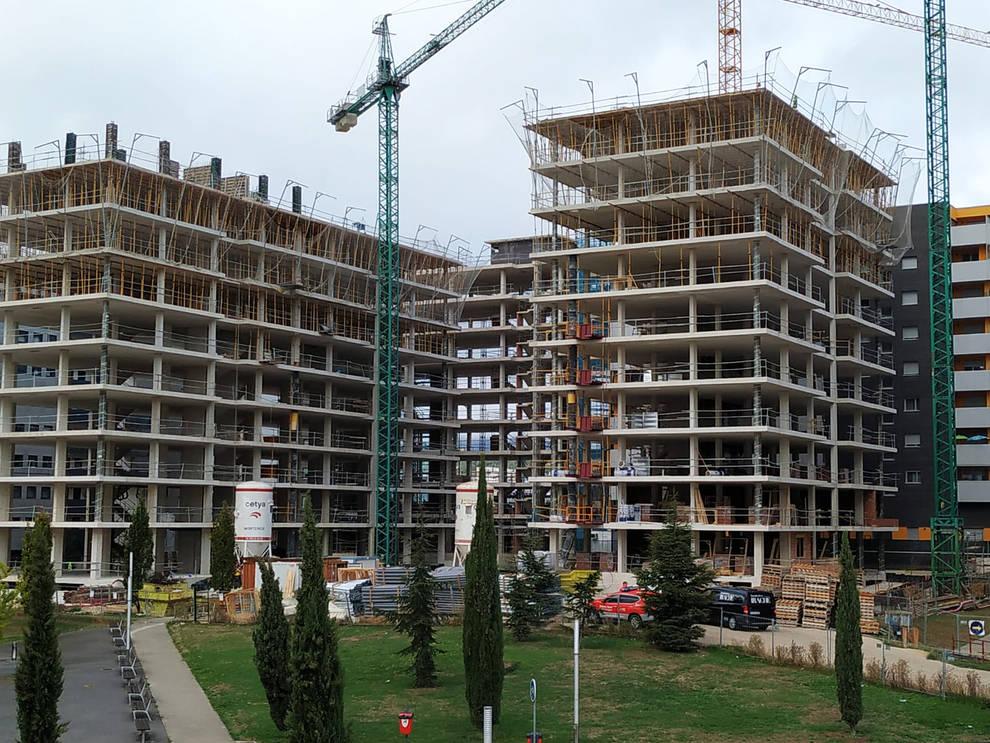 Fallece al caer del quinto piso de un edificio en obras de Erripagaña    Noticias de Navarra en Diario de Navarra