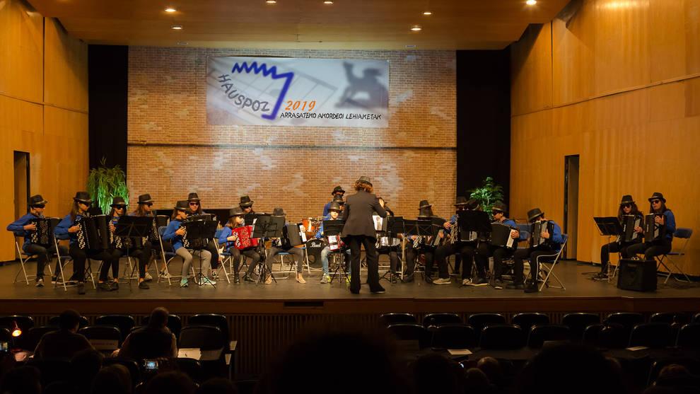 El alumnado de Luis Morondo volvió a destacar en el Festival Guipuzcoano de Acordeón