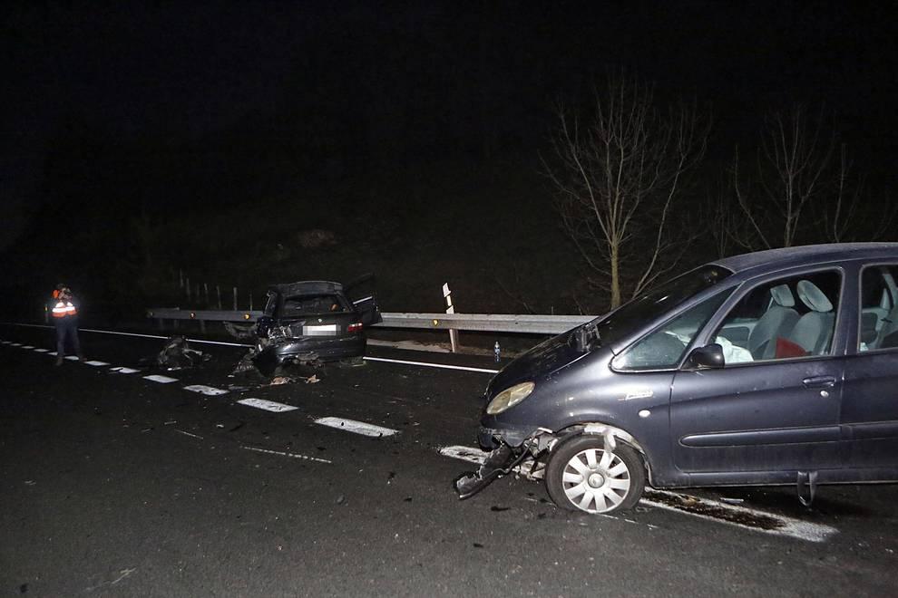 Accidente mortal en Olagüe