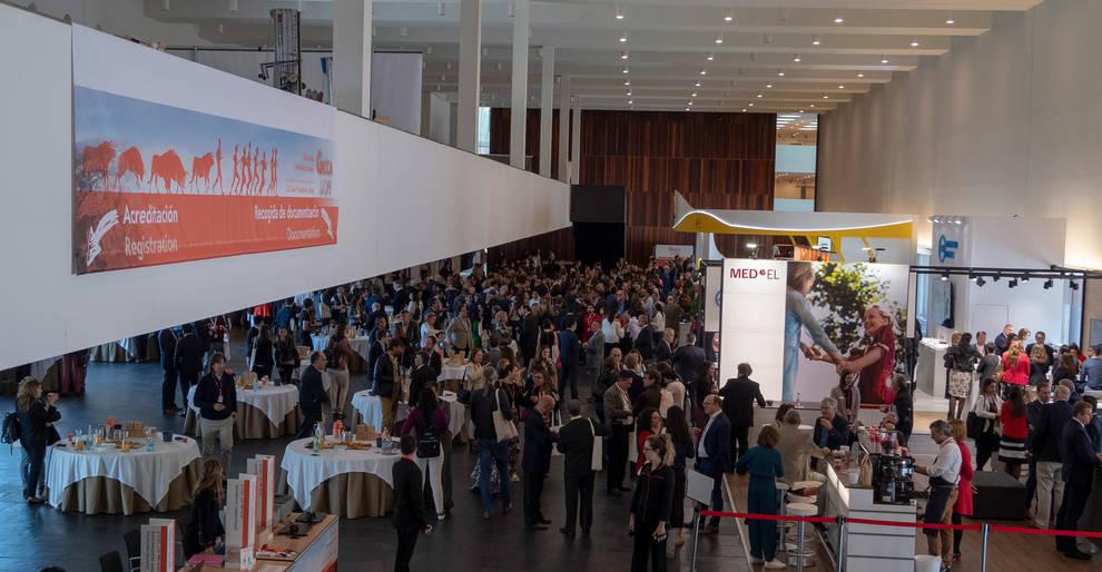 Asistentes a un congreso celebrado en Baluarte