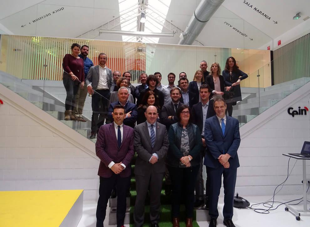 Presentadas en CEIN las seis empresas de su séptima cantera