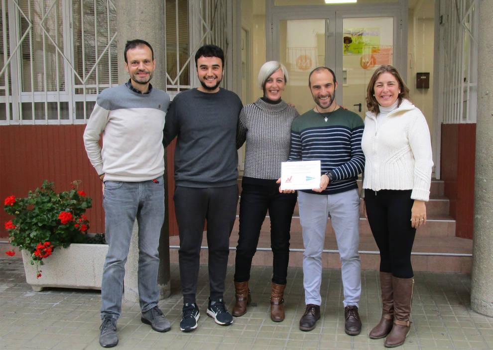 Los voluntarios de Navarra distinguen al colegio La Compasión Escolapios
