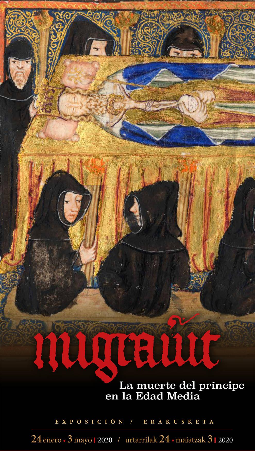 La muerte en la Edad Media llega a una exposición del Archivo de Navarra