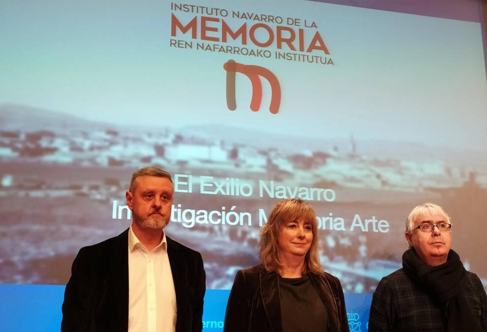 El Instituto Navarro de la Memoria encarga dos estudios sobre exiliados del franquismo