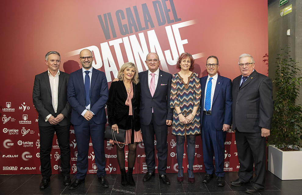 La Gala Anual del Patinaje reconoce a Pamplona por el Europeo organizado el verano