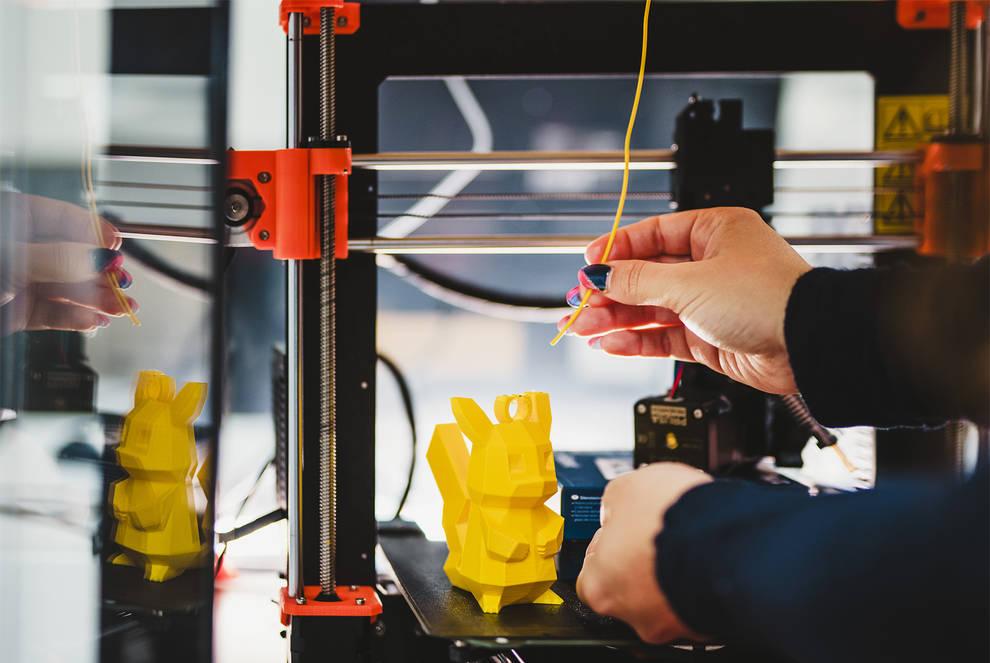 Electrónica y 3D este sábado en Civivox Mendillorri en el espacio Maker