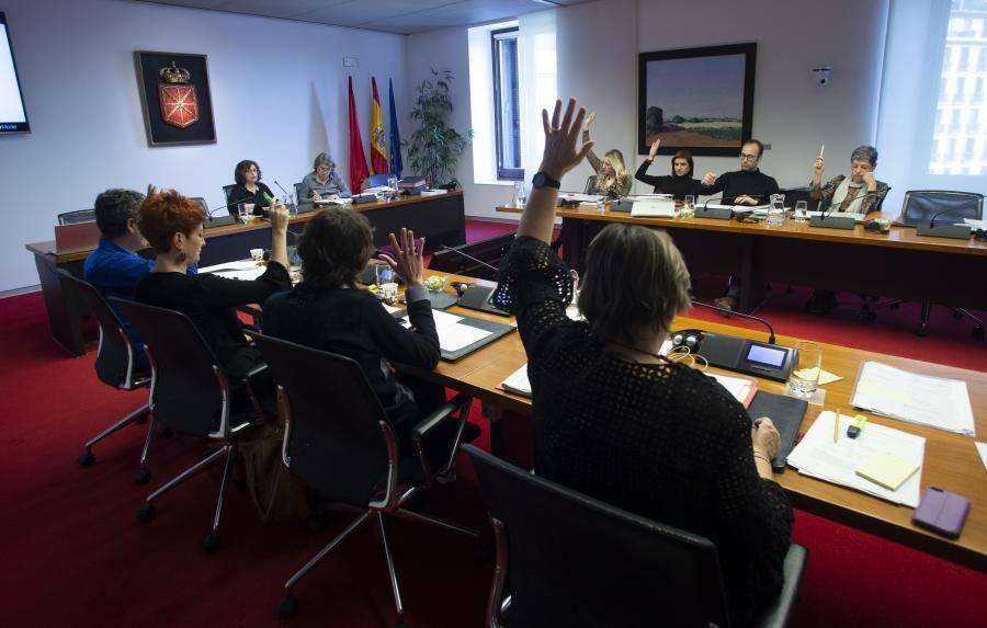 Concluye el debate de las enmiendas a los Presupuestos de Navarra