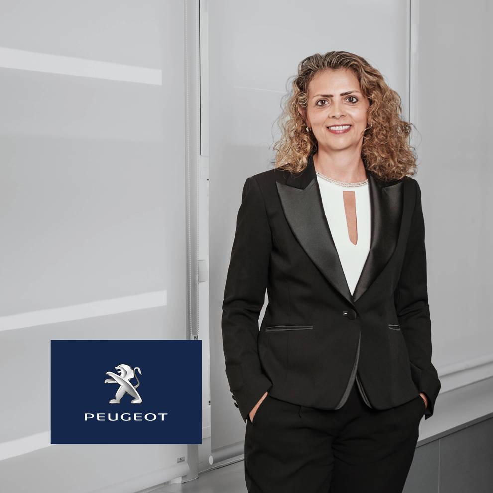 Hélène Bouteleau, directora general de Peugeot en España y Portugal