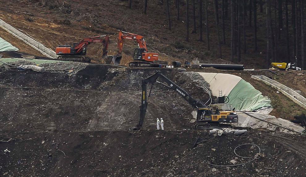 Navarra no ha recibido llamada para el traslado de residuos peligrosos de Zaldívar