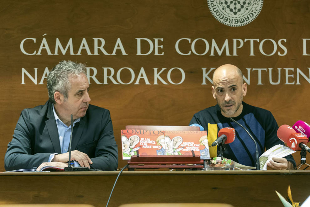 La Cámara de Comptos y César Oroz editan un cómic para acercar la institución