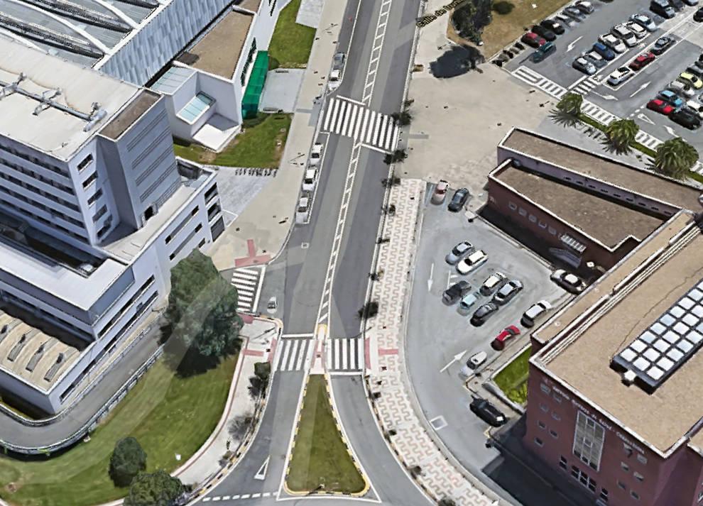 Gobierno y Ayuntamiento acuerdan reducir el tráfico de paso en la calle Irunlarrea