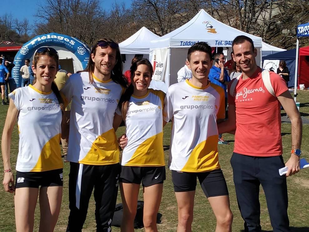 Oro y bronce para el Grupompleo Pamplona Atlético en el Nacional