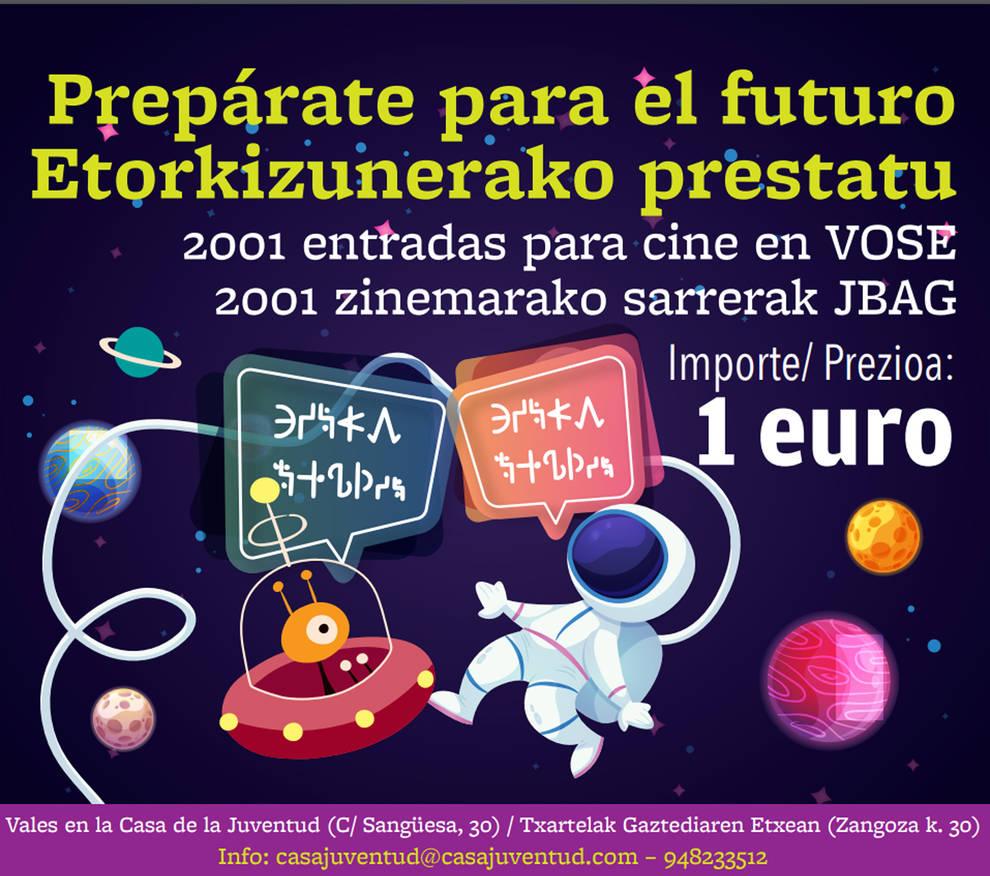 Arranca Prepárate para el futuro con entradas a 1 € para estrenos en V.O. subtitulada