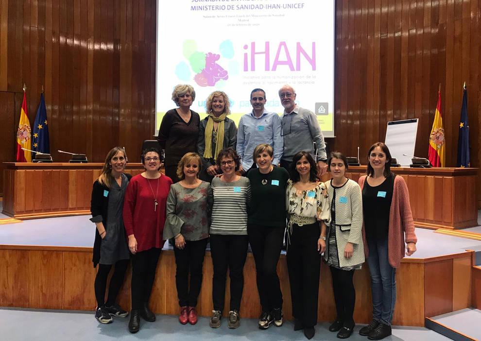 Entregadas las acreditaciones IHAN-UNICEF por promover la lactancia materna en Navarra