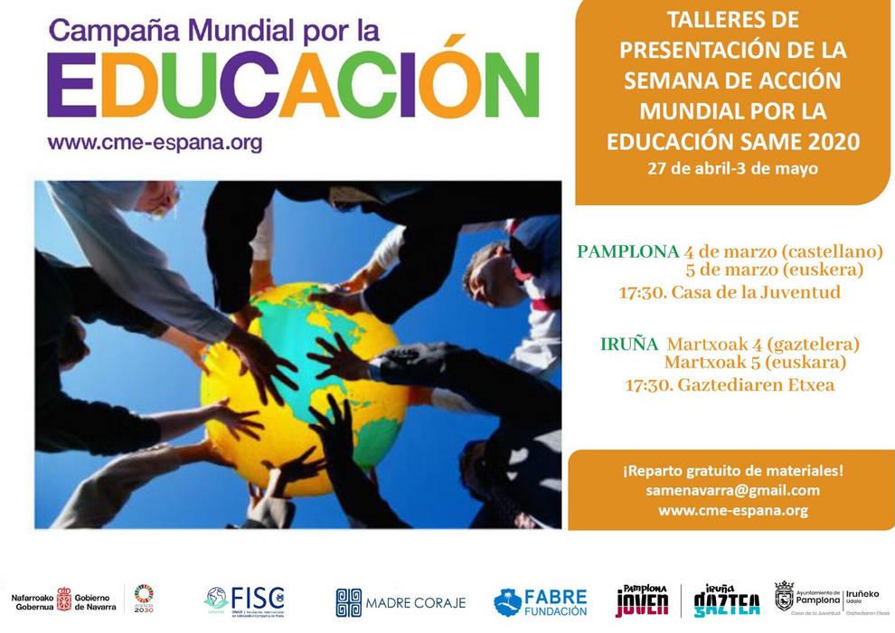 La Casa de la Juventud da inicio a la Semana de Acción Mundial por la Educación