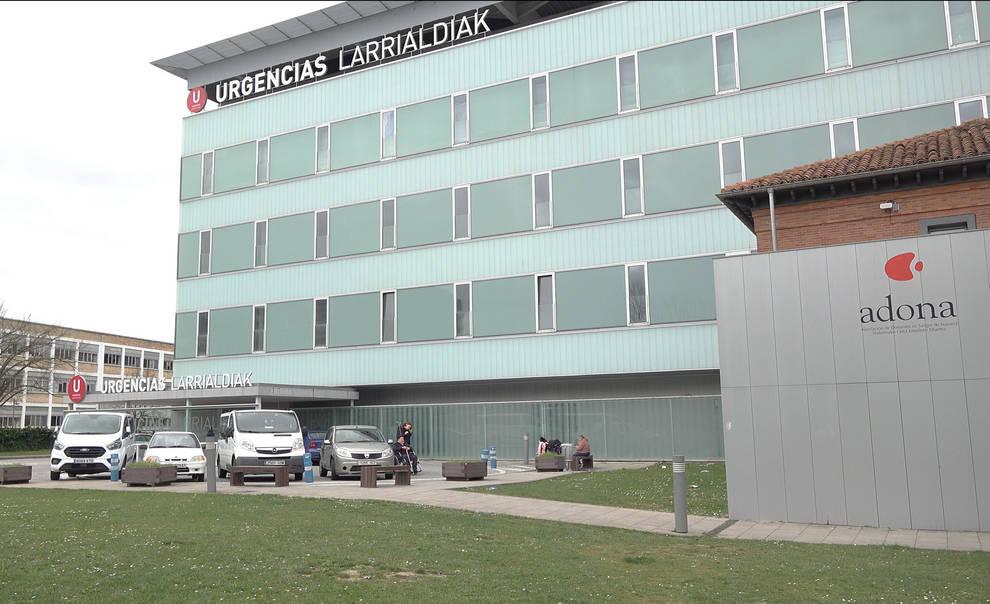 Edificio de Urgencias del Complejo Hospitalario de Navarra (CHN)