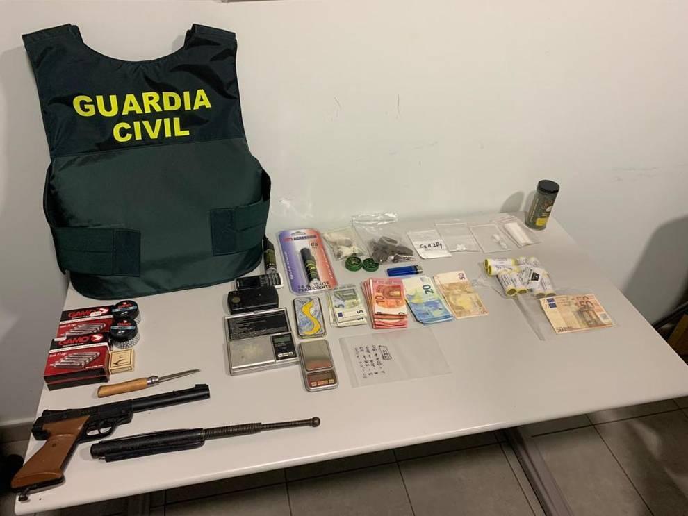 Detenido el dueño de un bar de Cintruénigo por tráfico de drogas