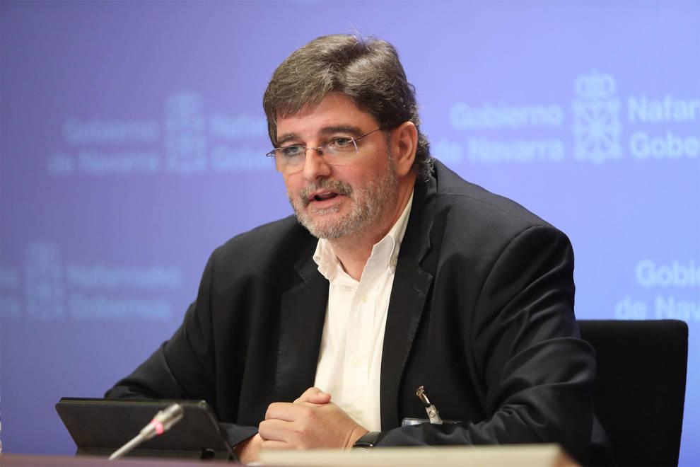 Alfredo Martínez Larrea, gerente del Complejo Hospitalario de Navarra.