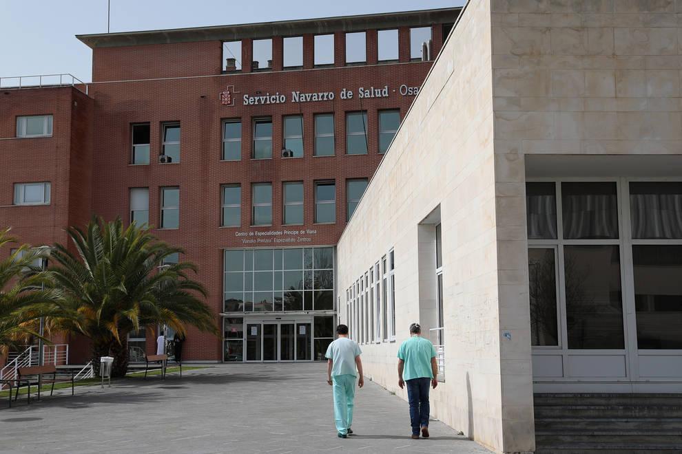 Centro de consultas externas Príncipe de Viana del CHN.