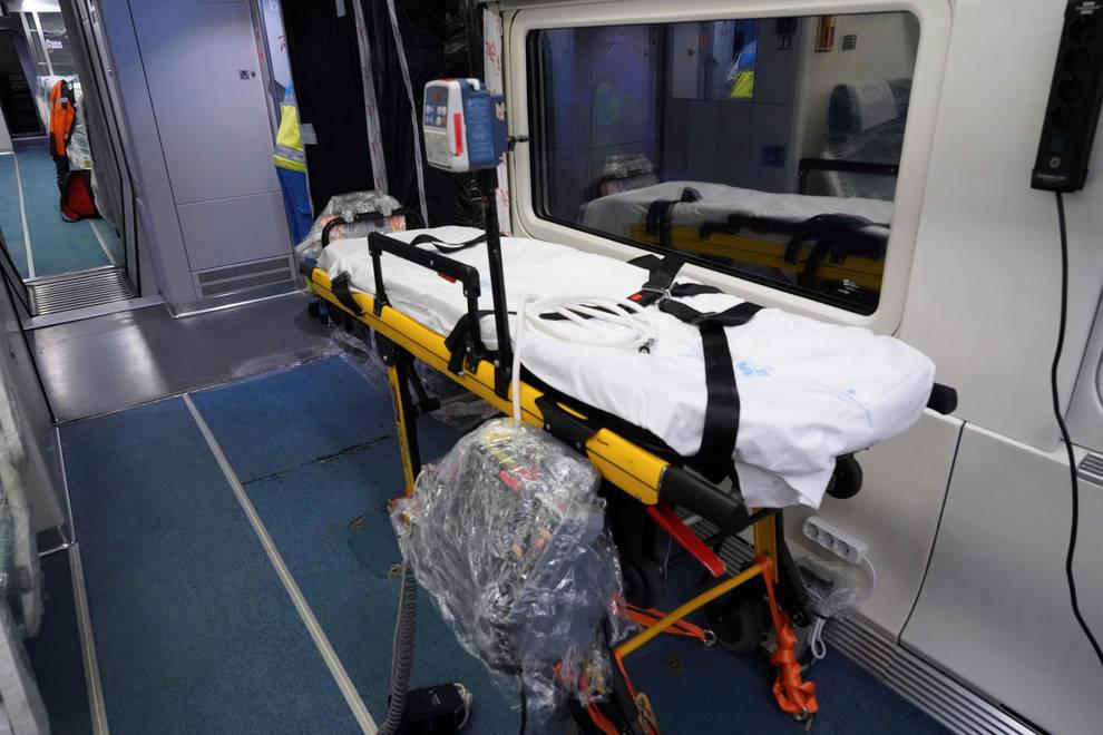Transporte pone a disposición de las CCAA trenes medicalizados de Renfe