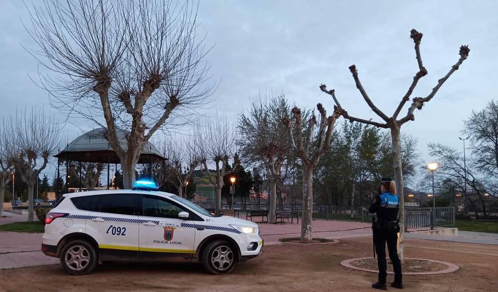 Sorprendidos tres menores cuando intentaban robar en un hipermercado en Tudela