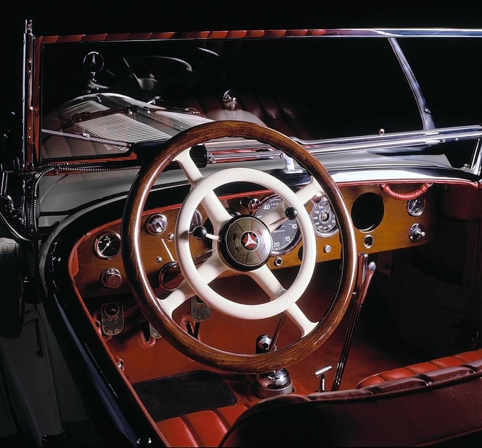 Mercedes volante bocina