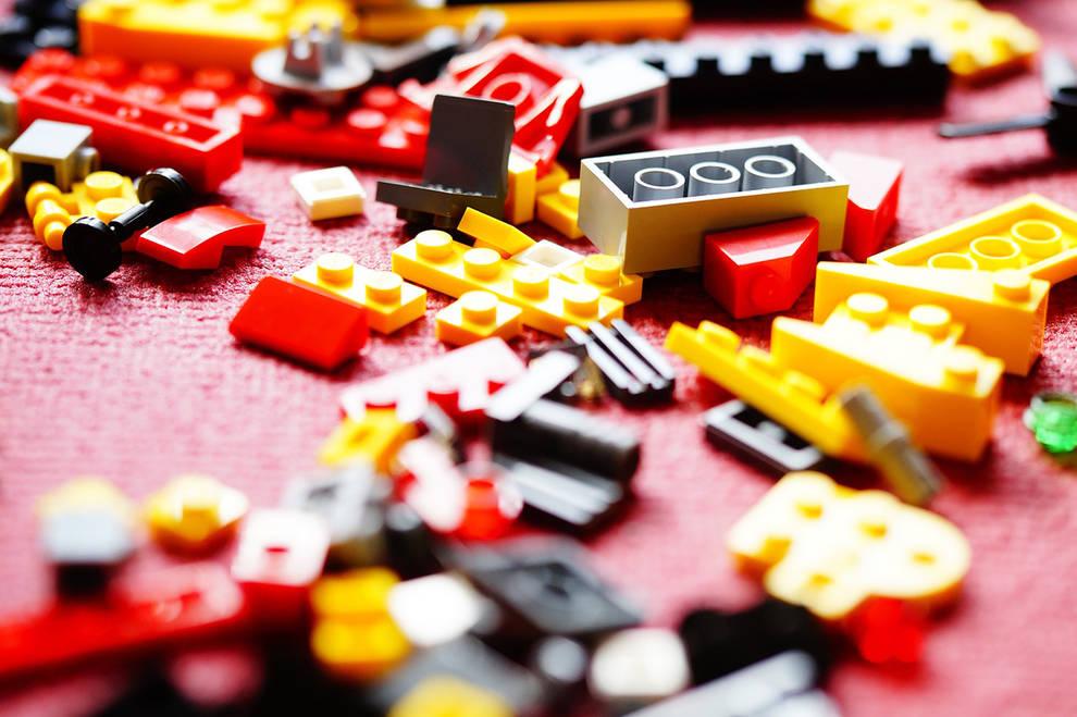 Los Sanfermines según Lego en un concurso del Ayuntamiento de Pamplona