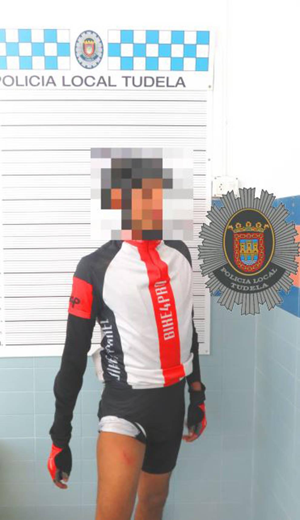 Denunciado un ciclista en Tudela tras dar una tasa de 1,04mg/l de alcohol