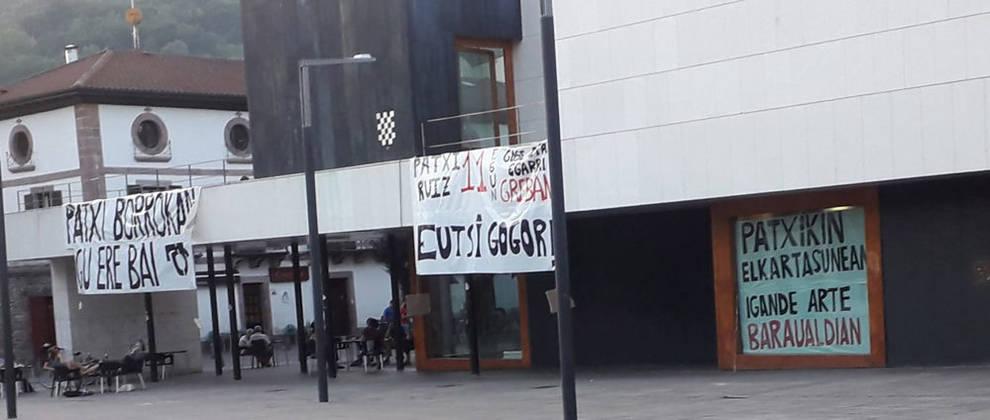 UPN denuncia nuevos actos de apoyo al preso de ETA Patxi Ruiz
