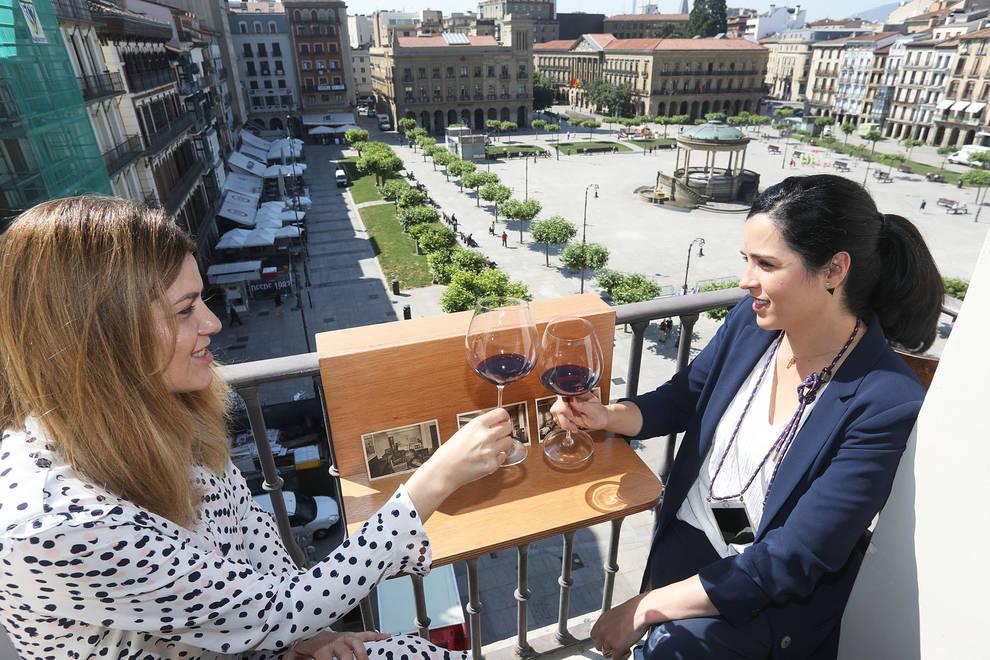 Pamplona ya cuenta con la primera terraza vertical del mundo