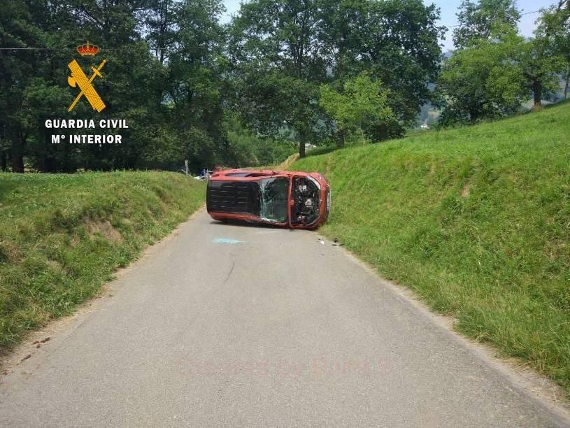 Accidente en Bera
