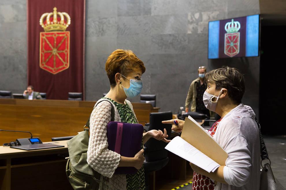 El Parlamento foral rechaza la propuesta de I-E de crear una banca pública