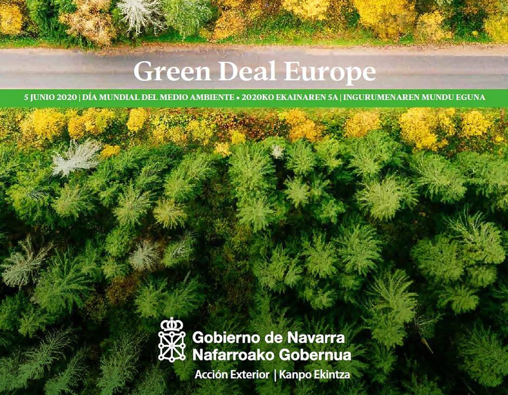Navarra organiza seminarios abiertos al público sobre el Pacto Verde Europeo