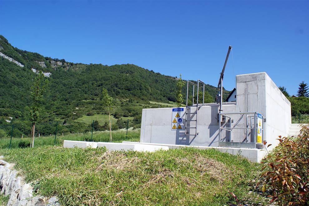 La depuradora de Orbaizeta inicia la fase de pruebas