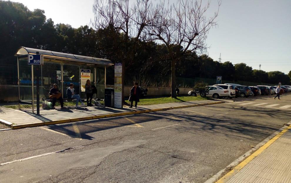 El Hospital de Tudela contará con una nueva parada de autobuses con mayor capacidad