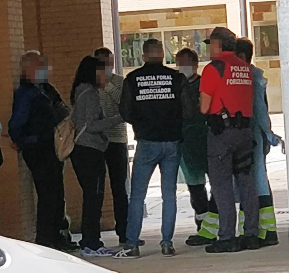 Liberada una menor en Artica tras una negociación de tres horas