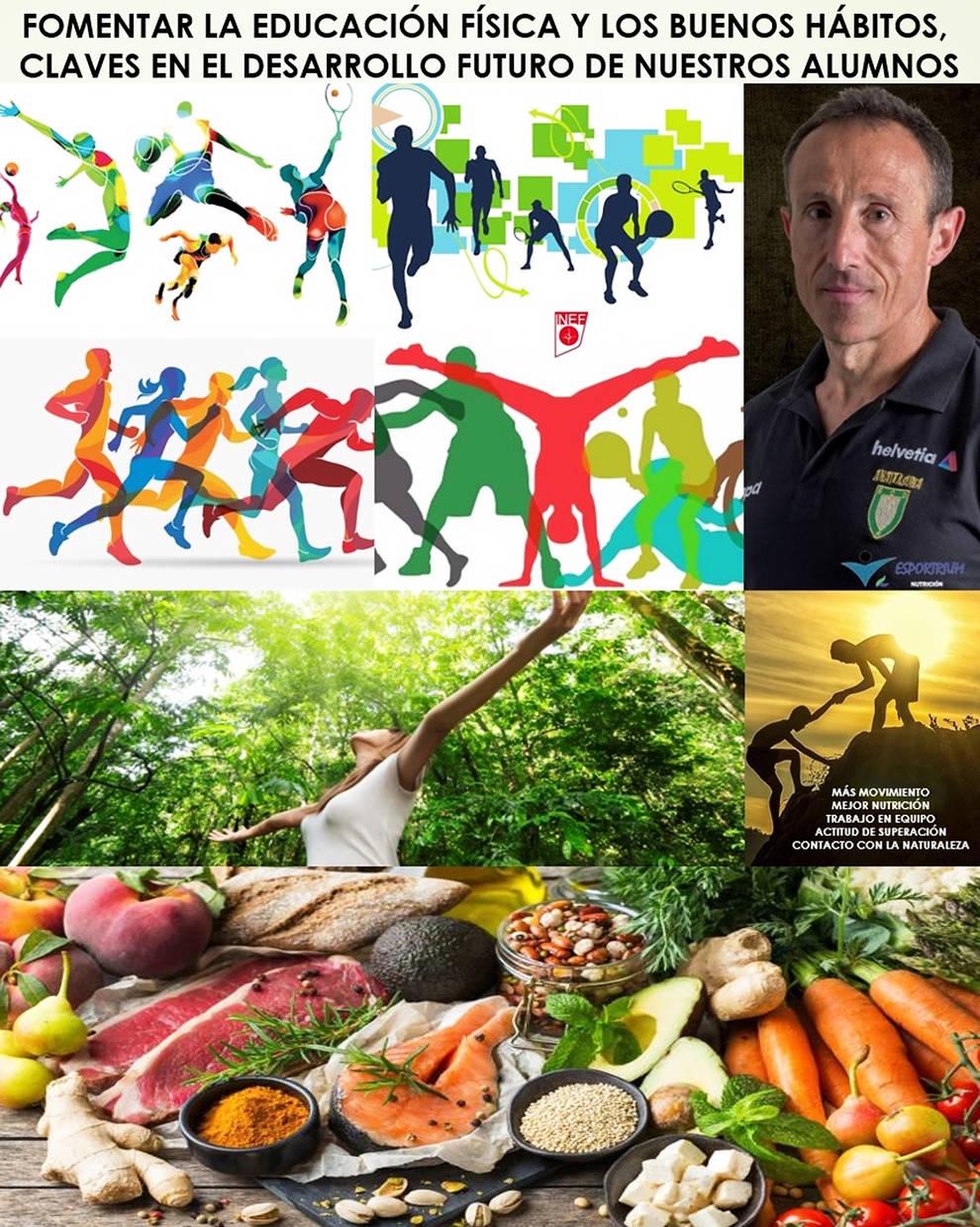 La educación física y la educación nutricional: claves en el desarrollo futuro de nuestros alumnos