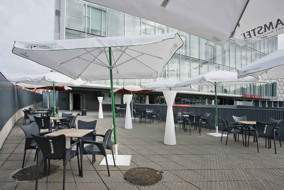 El escondite del Arena es la terraza de Navarra Arena