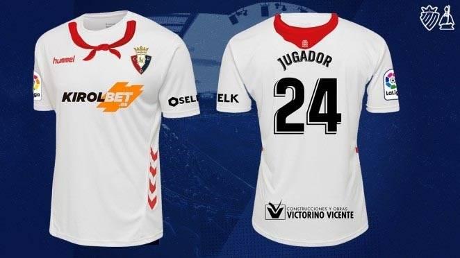 Osasuna lucirá ante el Celta una camiseta que homenajea a los Sanfermines