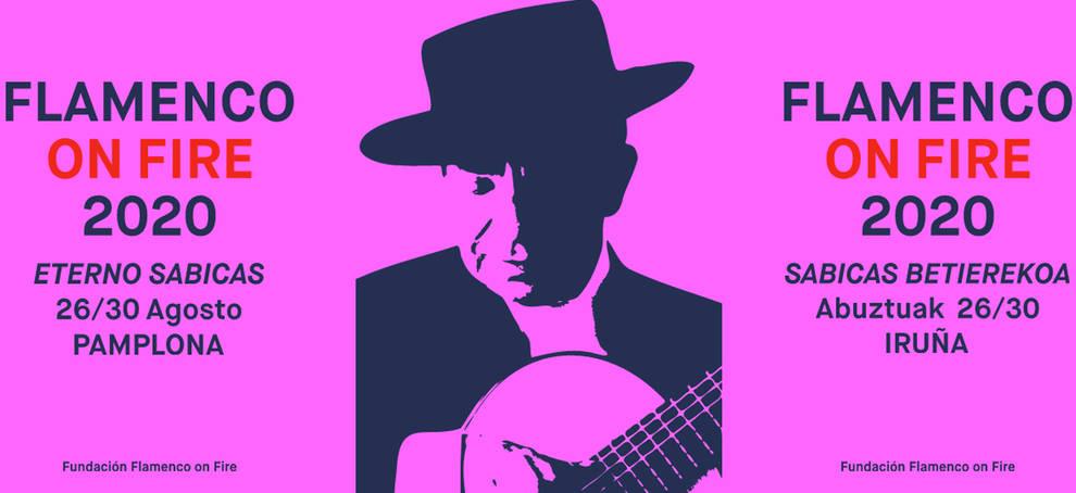 Oscar Mariné rinde homenaje a Sabicas en el cartel del Flamenco On Fire