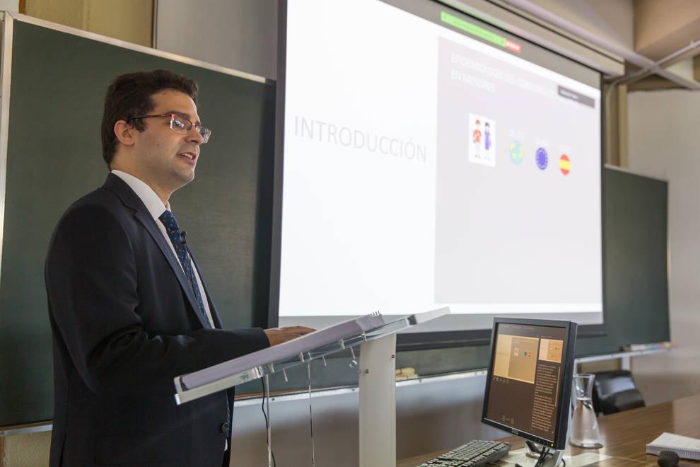 Pedro de la Rosa, investigador del ICS de la Universidad de Navarra.