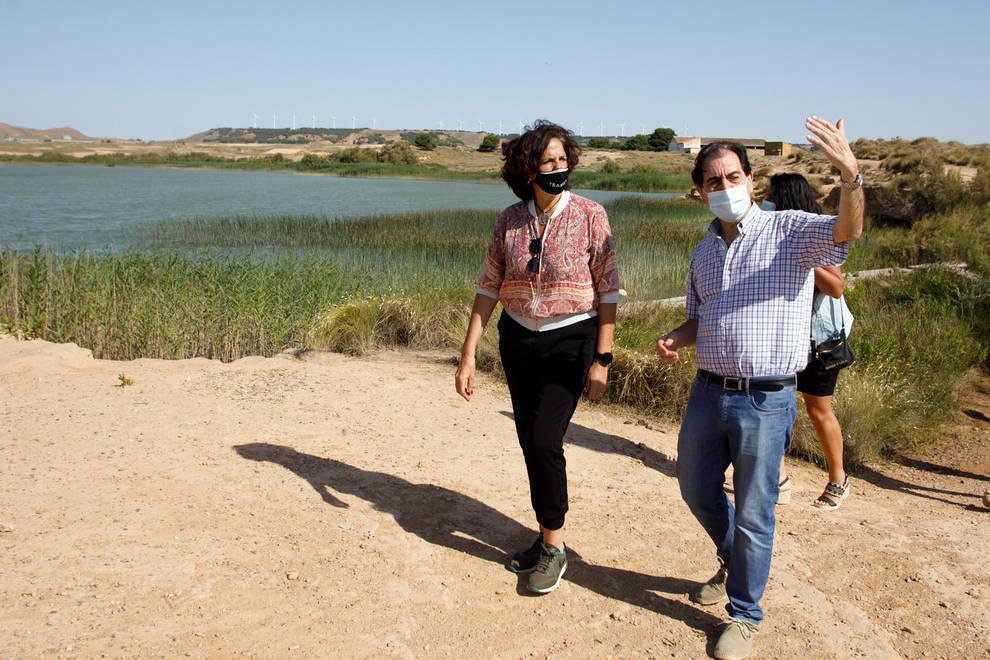 Instalados cuatro nuevos observatorios ornitológicos en la Ribera de Navarra