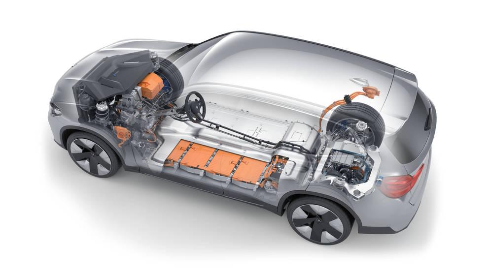 BMW iX3 baterías