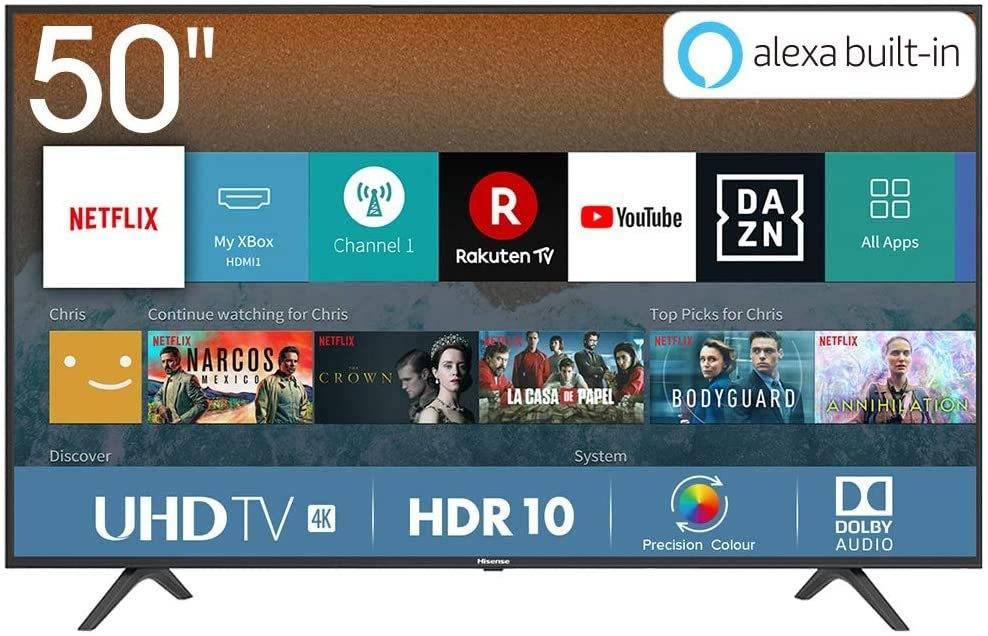 Smart TV Hisense H50BE7000