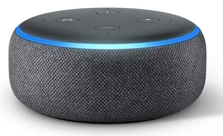 Altavoz inteligente con Alexa Echo Dot