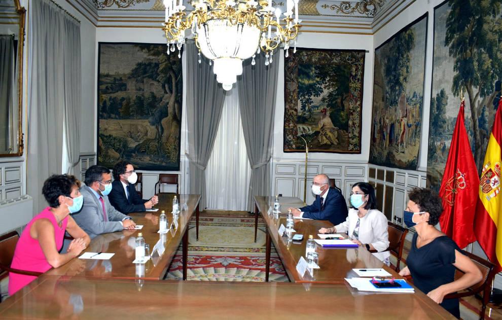 Navarra y el Estado se comprometen a seguir trabajando en las transferencias