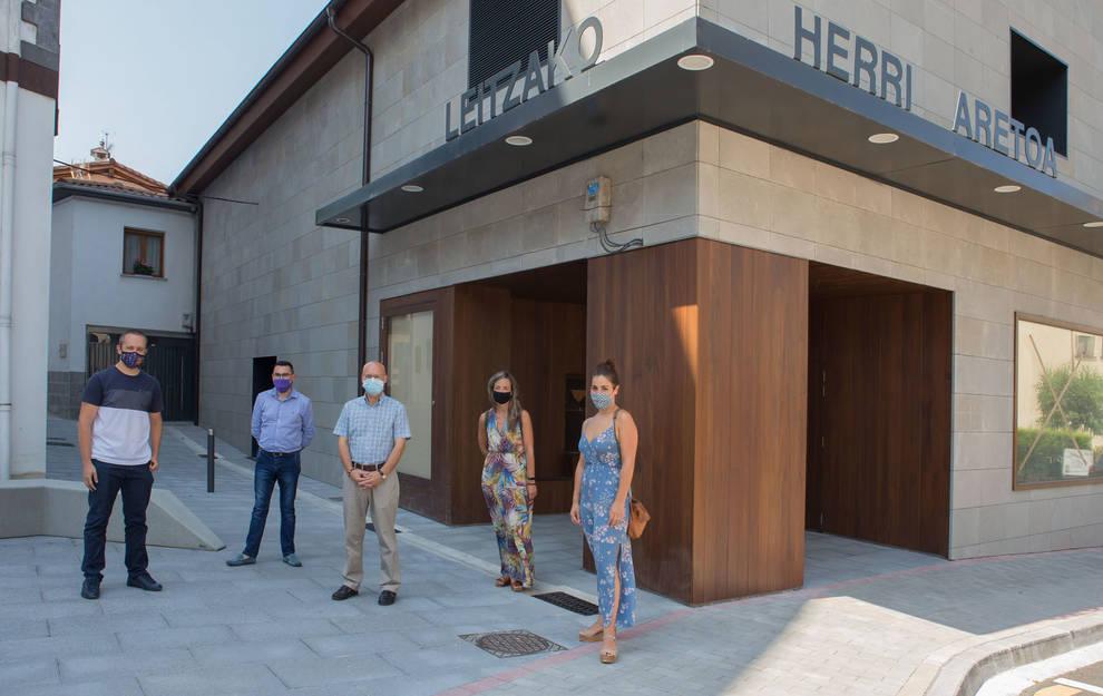 Mejora de infraestructuras en ocho localidades de la comarca de Larraun-Leitzaldea