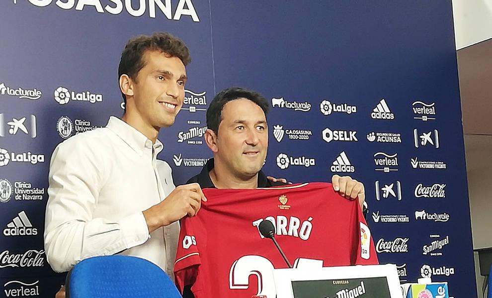 Torró: Necesitaba volver y ser feliz jugando, como cuando estuve aquí