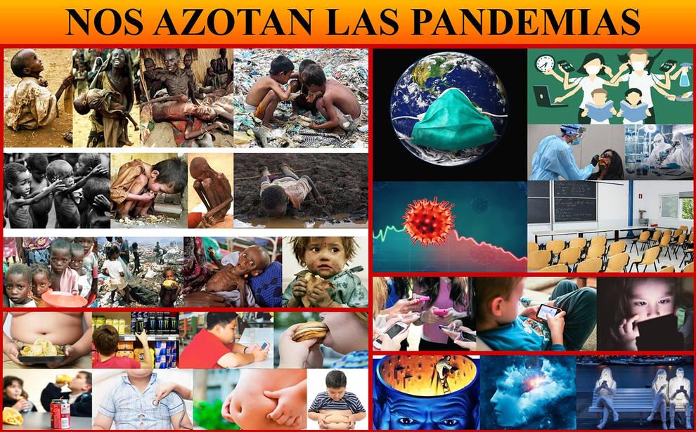 Nos azotan las pandemias. Blog de Javier Angulo