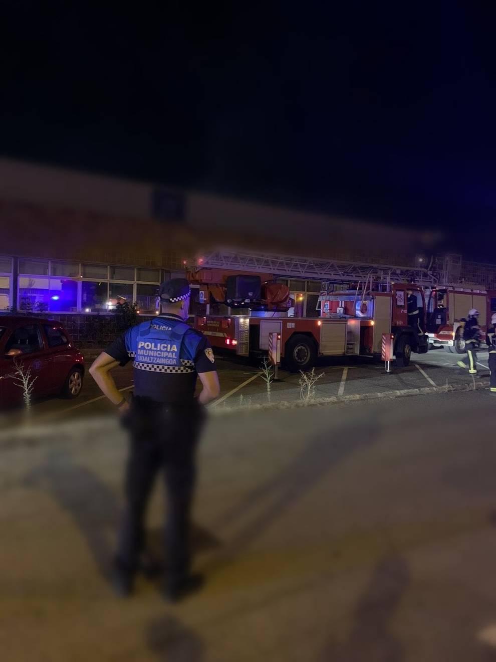 Sofocado un incendio en una empresa de Landaben